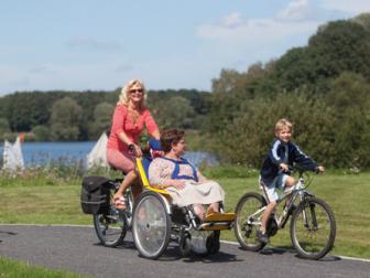 toegankelijk toerisme (rolstoelfietsen) in de Vlaamse Ardennen